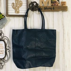 Unbranded Large Faux Leather Tote Bag